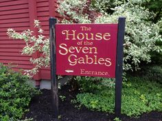 The House of the Seven Gables in Salem, MA