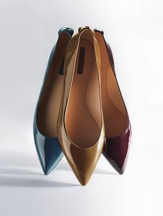 Longchamp - Ballerina Roseau Box - FW 2013 Collection on www.longchamp.com <<< Hi there Three Musketeers #Longchamp #Fashion #Shoes