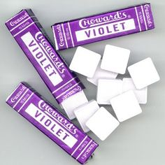 Choward's Violet Candy. This is my great grandmother's favorite candy, and I absolutely LOVE them!!!