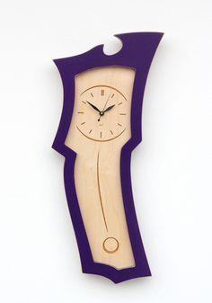 dust furniture* — Clock No.3 Mini - Small sized pendulum wall clock