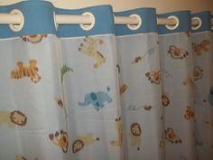 Cortina confeccionas em Tecido Oxford e voal.  sem varão.  Ambientes: Quarto,    Medida padrão da cortina Largura 2.00 x Altura 1.70 R$ 120,00