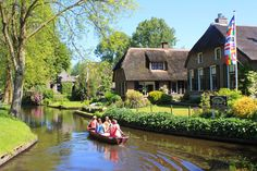 The Giethoorn city photos and hotels - Kudoybook