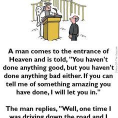 The Entrance to Heaven - #Funny #Joke