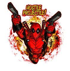 Hostile Projectile by DPForPrez