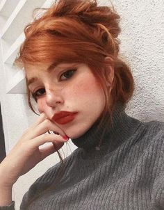 38 Attractive Red Hair Must Be Tried for Active Girls - SooShell