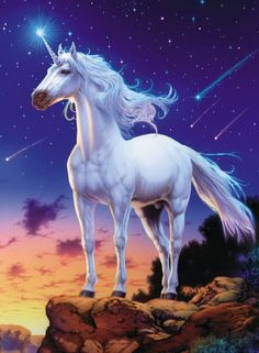 UNICORN BY JAN PATRICK KASNEY Unicorn Fantasy Myth Mythical Mystical Legend