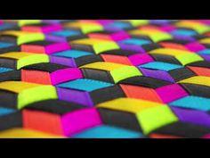 Libreta de Listones Diagonal Colores Tipicos Mexico (No es Tutorial)