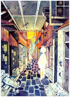 ghost by *koyamori on deviantART