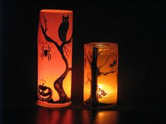 Ideas art for everyone, DIY - Joanna Wajdenfeld: Lanterns for Halloween