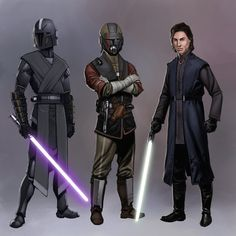 Commission Trio by Jedi-Art-Trick on DeviantArt