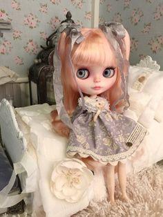 OOAK Custom Blythe Doll by MaPoupeeCherie