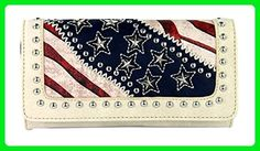 Montana West Stars N Stripes American Pride Collection Wallet - Wristlets (*Amazon Partner-Link)