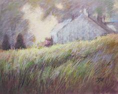 "Total Illusion Studio     Fine Art and Photography: ""Hillside"", pastel."