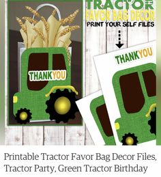 Tractor Birthday, Tractors, Favors, Christmas Ornaments, Holiday Decor, Party, Presents, Guest Gifts, Christmas Jewelry