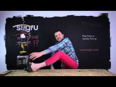 """WTF is sugru?""   See, we learned so much from RonCo and Shamwow..."