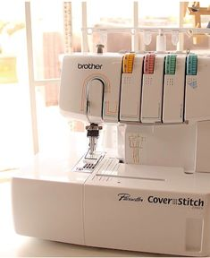 This machine is the most inexpensive on the market, but does it get the job done? Serger Sewing Projects, Sewing Tools, Sewing Hacks, Single Crochet Stitch, Basic Crochet Stitches, Crochet Basics, Serger Patterns, Sewing Machine Reviews, Sewing Room Organization