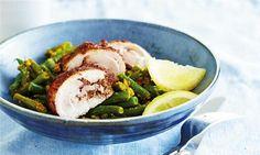 Chicken tikka with turmeric-braised green beans #CSIRO