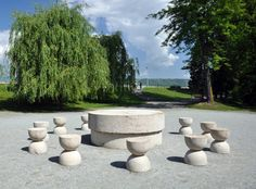 """""""The Table of the Silence"""" 2 by Constantin Brancusi"""