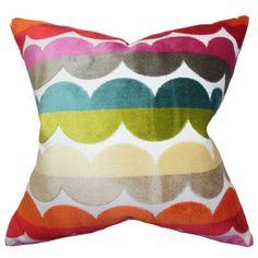 The Pillow Collection Xoise Geometric Throw Pillow & Reviews   AllModern