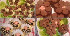 Dupla pudingos kekszek, nem csak a krém puding, hanem a kekszek tésztája is Izu, Gingerbread Cookies, Chocolate, Food, Gingerbread Cupcakes, Essen, Chocolates, Meals, Brown
