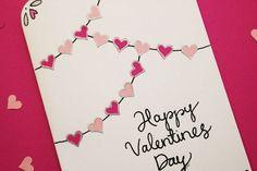 Valentines kort   DIY Sweden   Bloglovin'
