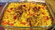 Huvilaelämää ja mökkiruokaa: Kanaa ja riisiä uunissa – yhden vuoan ateria