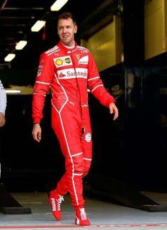 Sebastian Vettel starting from P2 for the 2017 Australian GP