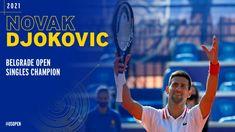 Dainik Bhaskar Hindi - bhaskarhindi.com, बेलग्रेड।विश्व के नंबर-1 टेनिस खिलाड़ी सर्बिया के नोवाक जोकोविच ने शनिवार को घेरलू मैदान पर बेलग्रेड ओपन में 23 वर्षीय एलेक्स मोलकानक्वालीफायर मैच में 6-4, 6-3 से हराकर अपने करियर का 83वां खिताब जीता। घेरलू मैदान पर ये उनका तीसरा खिताब था। सर्बियाई स्टार जोकोविच ने पहली बार एटीपी के फाइनल खेल रहे मोलकान को 88 मिनट में हराया दिया। जोकोविच ने बेलग्रेड ओपन जीतक फ्रेंच ओपन से पहले अच्छा अभ्यास किया है। 34 वर्षीय जोकोविच ने इस सीजन में  Tennis News, Cricket News, International News, Lifestyle News, Bollywood News, Business News, New Technology, Tennis Racket, Sports News