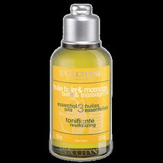 Revitalising Bath & Massage Oil - L'Occitane - £7.