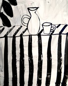 bottle and cup by shohei hanazaki