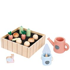 Old Fashioned Toys, Wooden Baby Toys, Imaginative Play, Social Skills, Baby Shop, Stuffed Mushrooms, Canning, 3 Years, Children