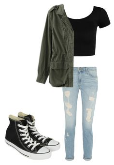 Untitled #69 by fangirlmuch on Polyvore featuring polyvore, fashion, style, Paige Denim and Converse
