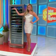 Amber Lancaster - The Price Is Right (2/2/2016) ♥