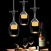 Would be cool at a bar! 25cm  Round 9W LED Bar Wineglass Chandelier D... – USD $ 69.99