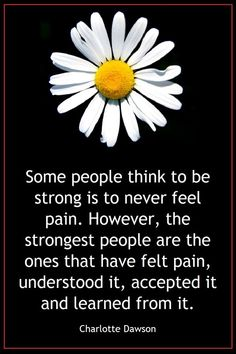 Learning from the experience of pain -- what a source of strength and, yes, compassion too. ---- For more picture quotes check out my #freebook Wisdom Quotes Illustrated.