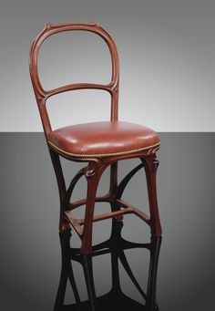 love the legs on this hector guimard armchair c 1899. Black Bedroom Furniture Sets. Home Design Ideas