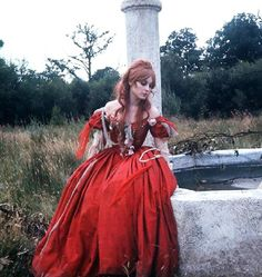 Sharon Tate on the set of The Fearless Vampire Killers
