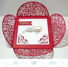 Hi Crafty Friends,     It's my turn to post a tutorial today for the Die Cut Design Team on the Elizabeth Craft Designs blog . This ti...