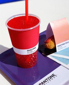 "PANTONE × カフェ。色に食を掛け合わせる ""Pantone Cafe"""
