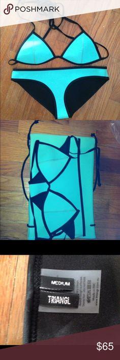 Triangl bikini Top and bottom are both size medium. Never worn! triangl swimwear Swim Bikinis
