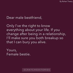 Best Friend Quotes For Guys, Besties Quotes, Guy Best Friend, Sassy Quotes, Attitude Quotes, Mood Quotes, Funny Quotes, Qoutes, Real Life Quotes