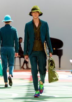 Burberry Prorsum Menswear Spring Summer 2015 Collection - Look 9