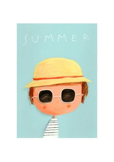 """Summer"" by begela (via Etsy)."