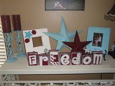 Freedom Blocks I Heart Nap Time | I Heart Nap Time - Easy recipes, DIY crafts, Homemaking
