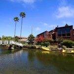 Venice Canals. A beautiful area of Venice CA. This website explains where it is and the history of it.