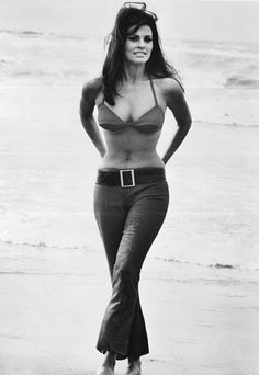 The Sexiest Jeans Ever - Raquel Welch from #InStyle