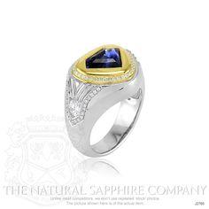 3.97ct Blue Sapphire Ring Image