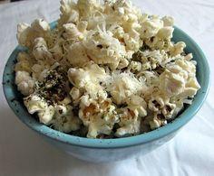 healthy ranch flavored popcorn!