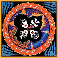 KISS Rock and Roll Over Animated