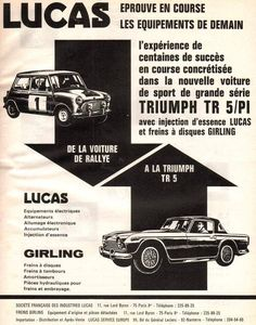Triumph TR5 / PI with Lucas  Girling